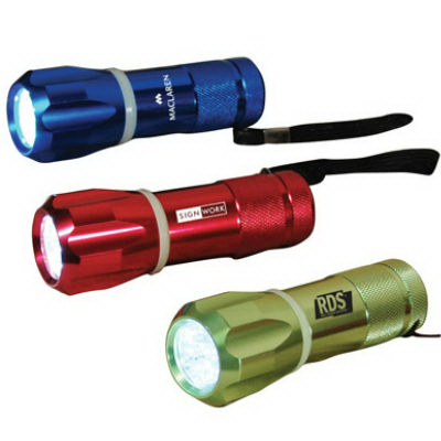 Promotional Glow ring flashlight