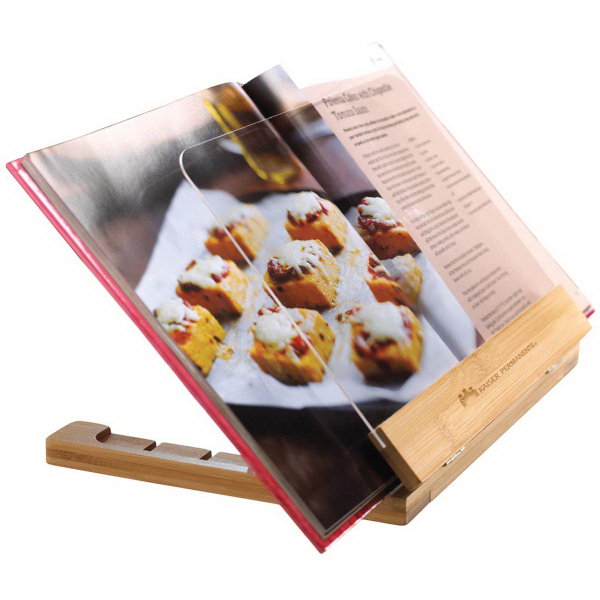 Printed Recipe book stand