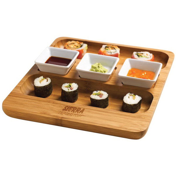 Promotional Trio serving tray