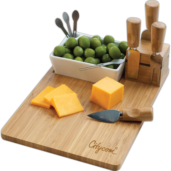 Personalized Duo appetizer and cheese set