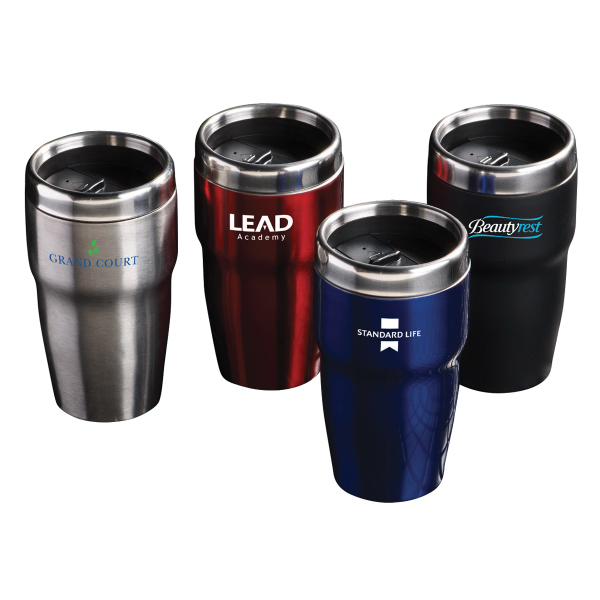 Promotional Brew N Go Stainless Tumbler
