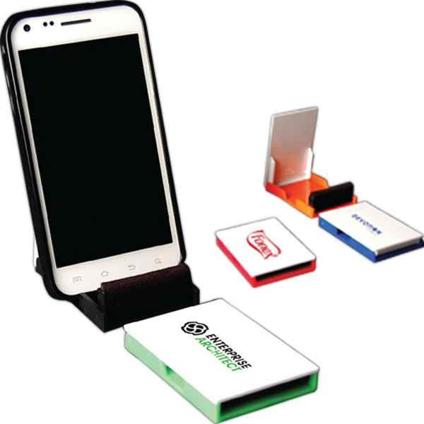 Promotional Flip Mobile Stand and Cleaner