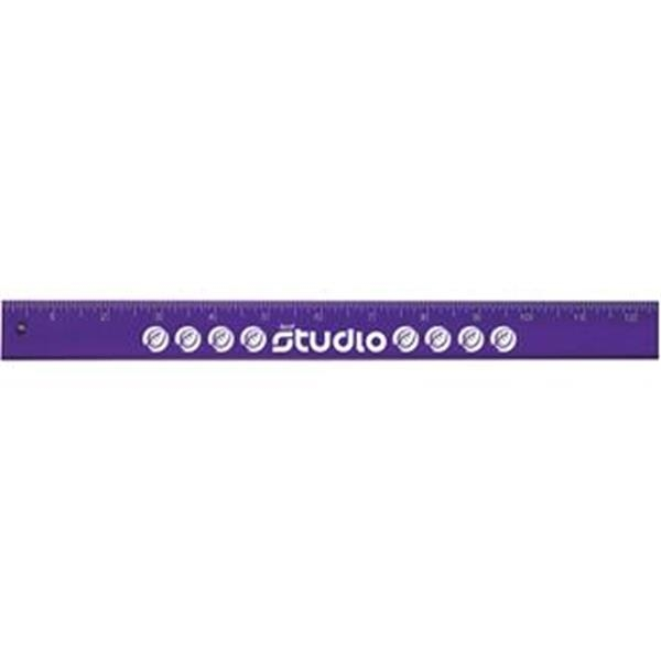 "Promotional ICool 12"" Plus plastic ruler"