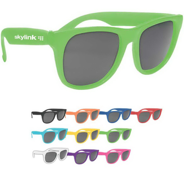 Personalized Solid Color Sunglasses