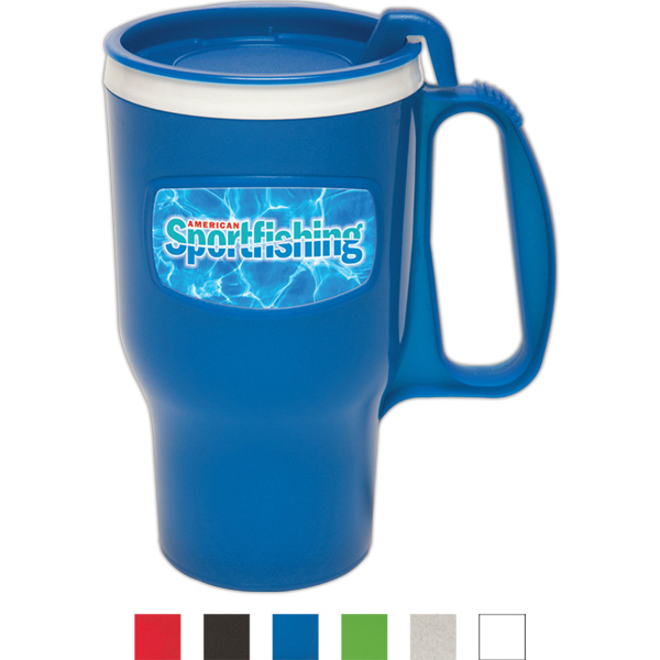 Personalized 16 oz Traveler mug