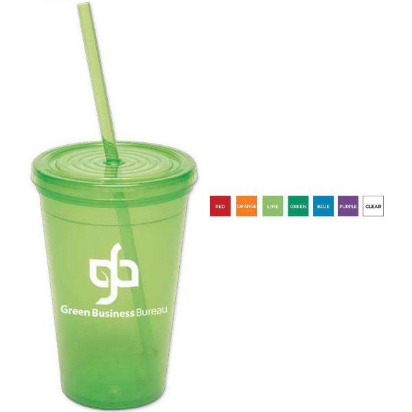 Personalized 16 oz. Semi-Pro Tumbler