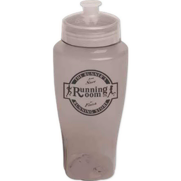 Imprinted 24 oz Polysure (TM) twister bottle