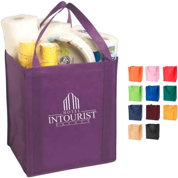 Imprinted Large Non-Woven Grocery Tote