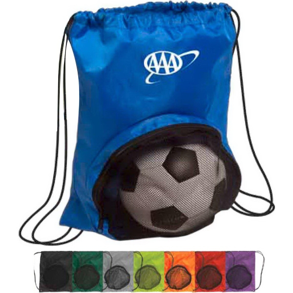 Promotional Striker Drawstring Backpack