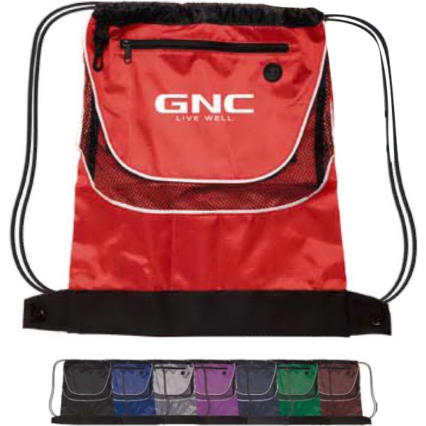 Promotional Tournament Drawstring Backpack