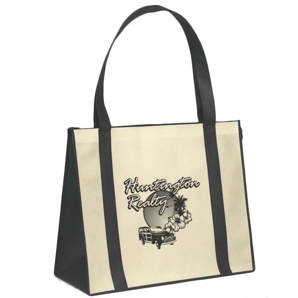 Personalized Del Mar (TM) Non-Woven Polypropylene Tote Boat Bag