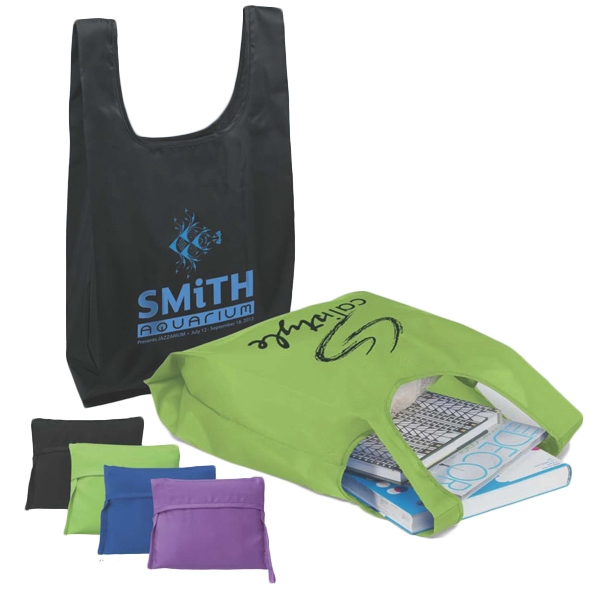 Promotional T-Pac (TM) Poly T-Shirt Bag