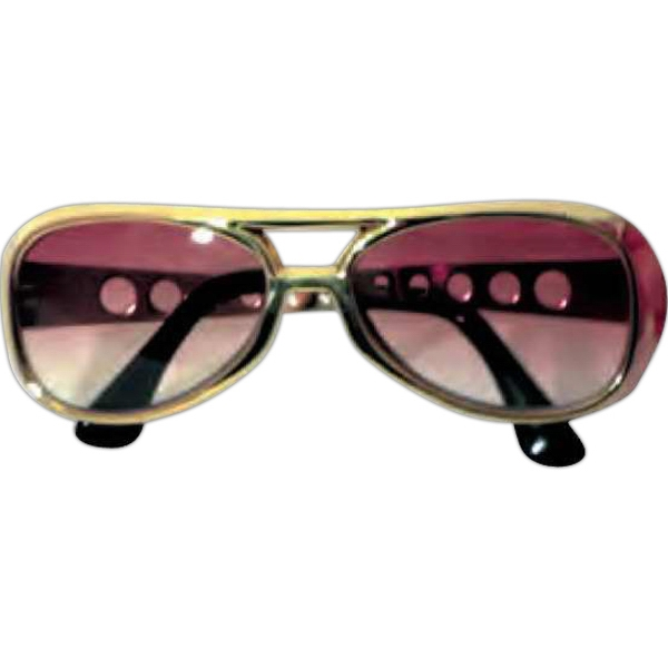 Imprinted Elvis glasses