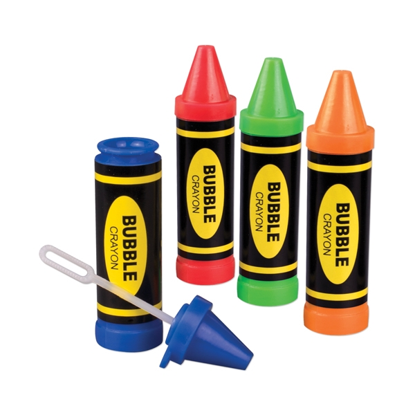 Promotional Crayon bubbles