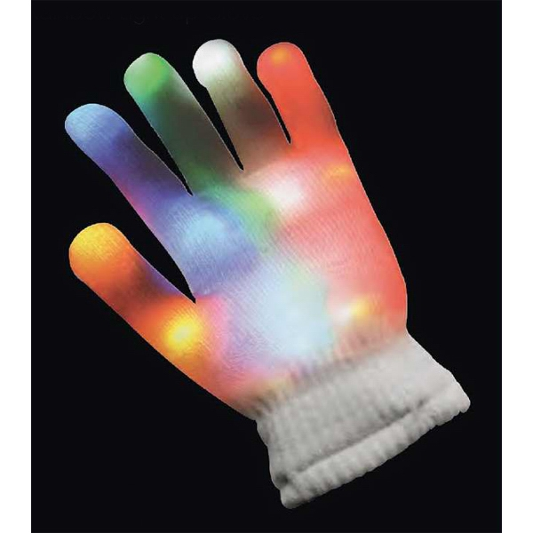 Printed Rainbow light up glove