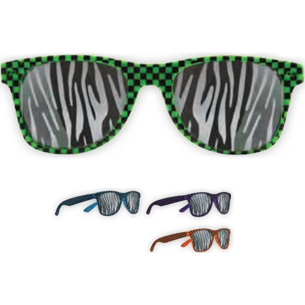 Printed Zebra Lens Glasses