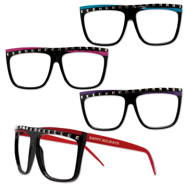 Imprinted Party Rock Glasses Assortment