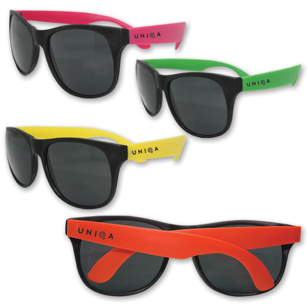 Personalized Classic Neon Sunglasses-Assortment