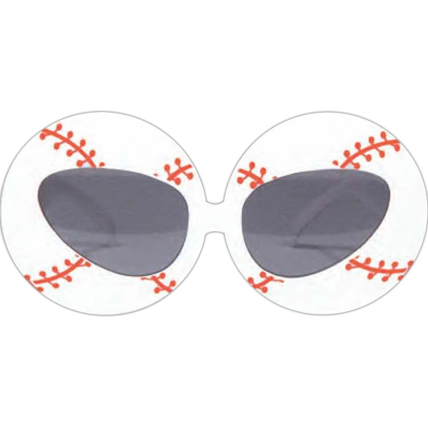 Imprinted Baseball Glasses