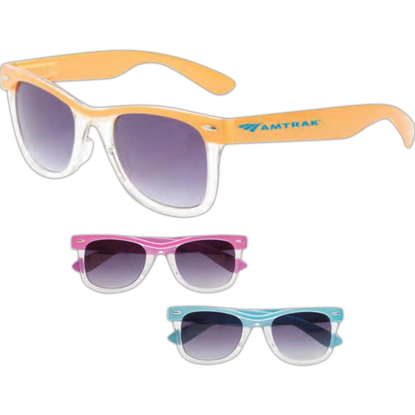 Promotional Malibu Two Tone Glasses Assortment