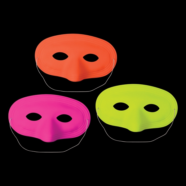 Custom Neon half masks