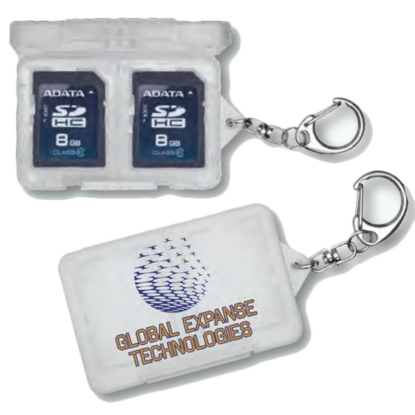 Imprinted SD/XD Memory Card Holder