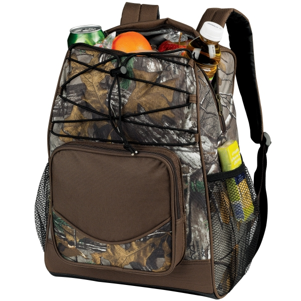 Customized Camo Backpack Cooler