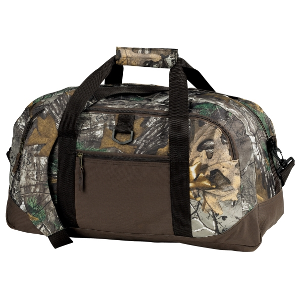 Customized Camo Voyager Duffle
