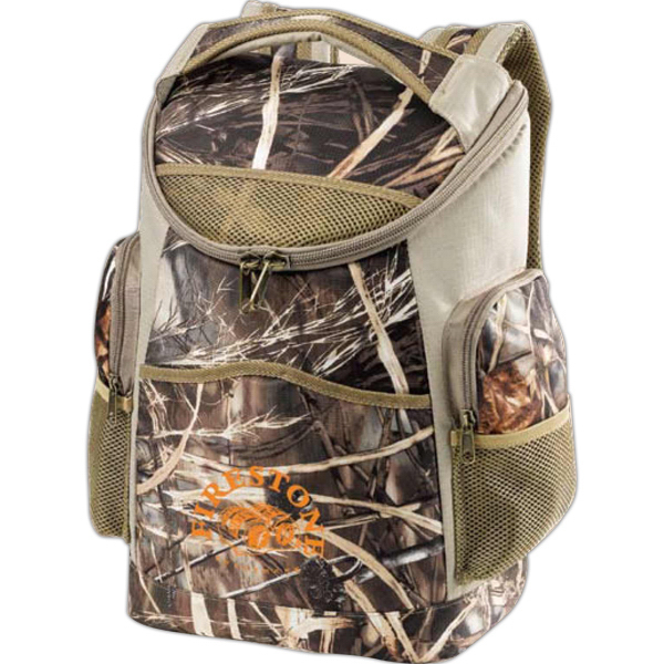 Custom Ultimate Camo Backpack Cooler