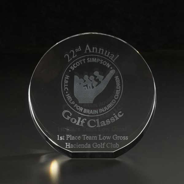 Promotional 3D Circle Large Award