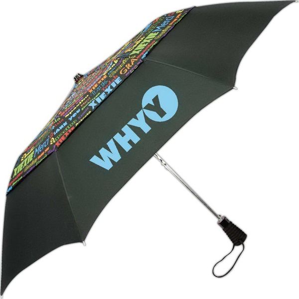 Custom Thank You Automatic Open Umbrella