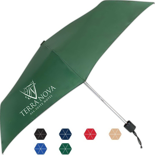 Printed Nova Manuel Open And Close Umbrella
