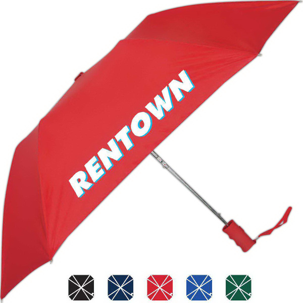 Personalized Quad Auto Open Folding Umbrella