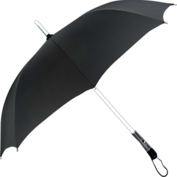 Promotional LED Lighted Shaft Umbrella With 3 Lighted Modes