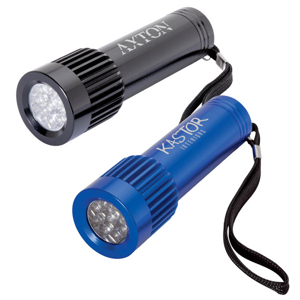 Promotional 9 LED Flashlight
