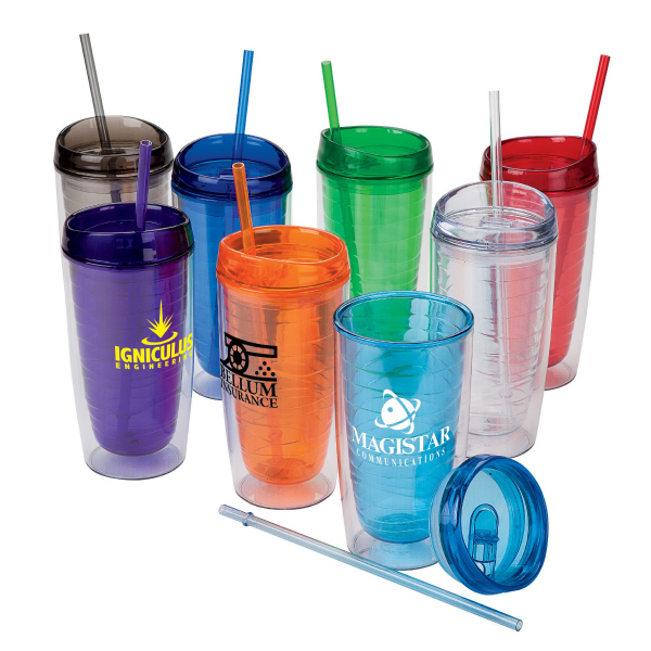 Imprinted 16 oz. Hot / Cold AS Tumbler
