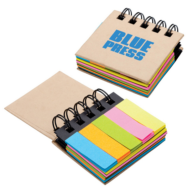 Personalized Sticky Notes & Flags Notebook