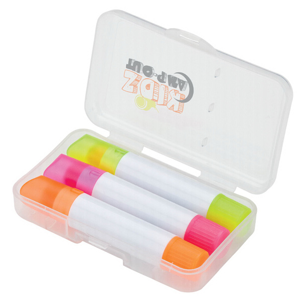 Promotional 3 PC Highlighter Set