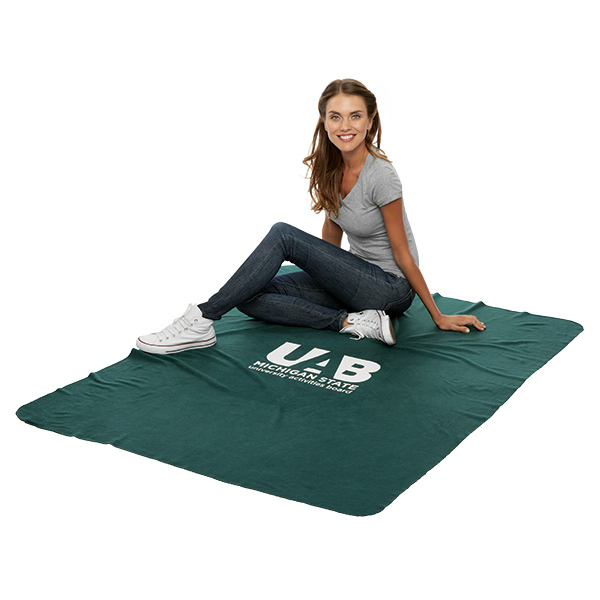 Custom Polar Fleece Stadium Blanket