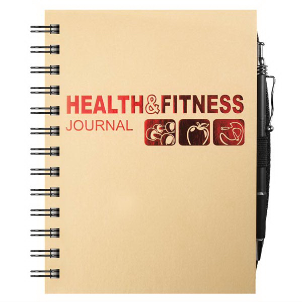 Imprinted Exercise/Nutrition Tracker