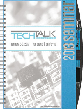 Customized Small EventPlanner (TM) Journal w/Calendar