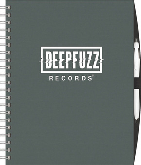 Imprinted NEW ITEM! - Express NoteBook (TM) Large w/PenPort