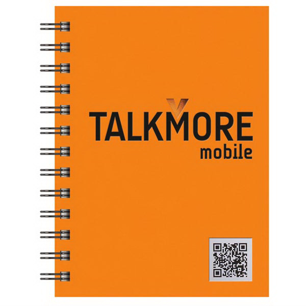 "Promotional Small 5"" x 7"" QR Code Book TechBooks (TM)"