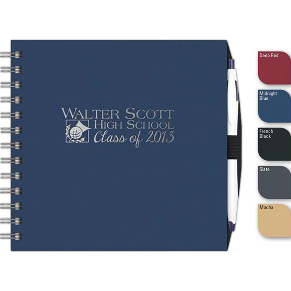 Promotional NEW ITEM! - Express Square (TM) NoteBook w/PenPort