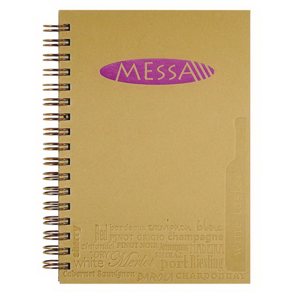Imprinted Small Wine Jotter