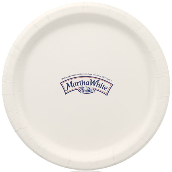 Printed Coated Paper Plate