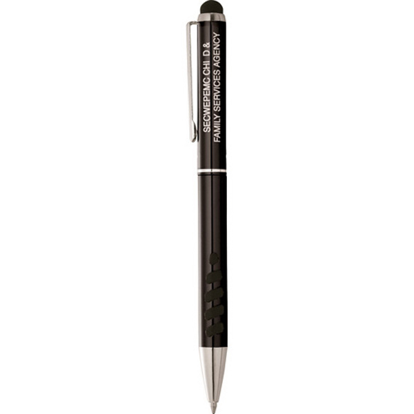 Imprinted Tech II Ballpoint Stylus Pen