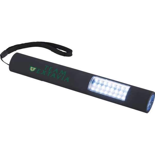 Imprinted Grip Slim and Bright Magnetic LED Flashlight
