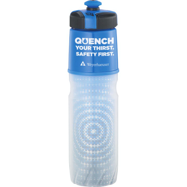 Custom Cool Gear (R) Insulated BPA Free Squeeze Bottle 20oz