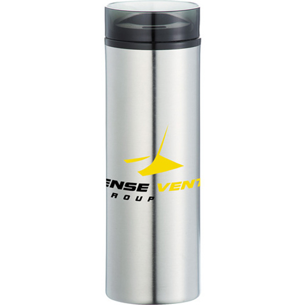 Custom Hot and Cold Stainless Skinny Tumbler 15 oz